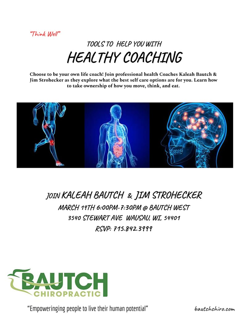 Healthy Coaching Announcement