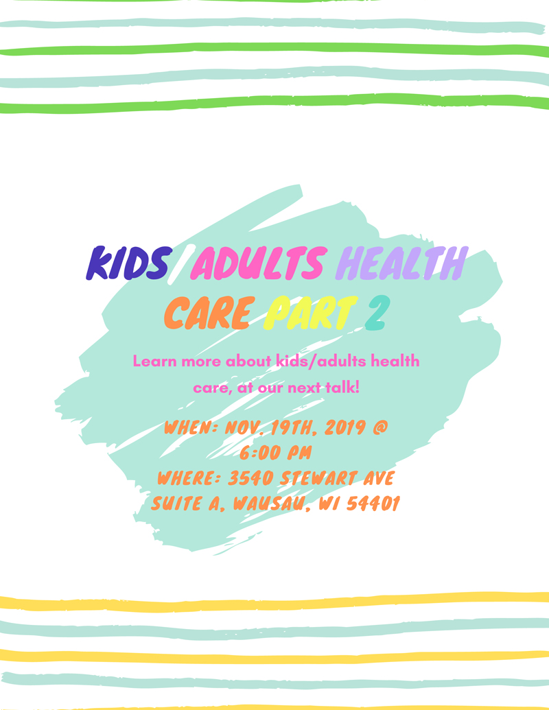 Kids and Adults Health Care Part 2