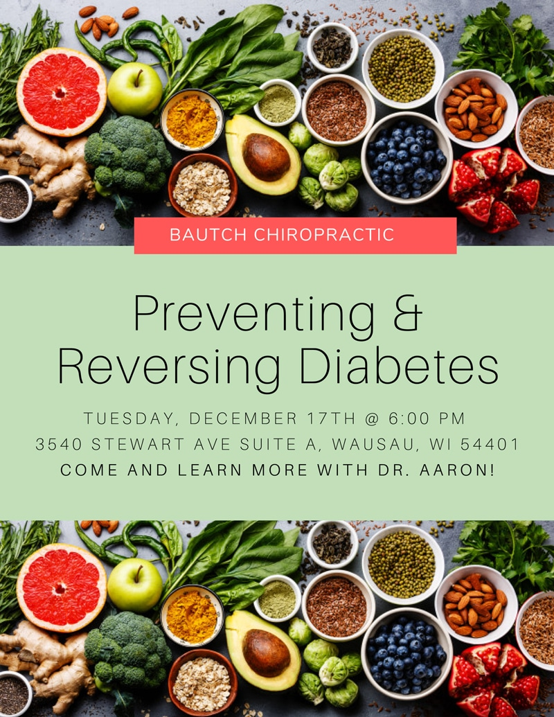 Preventing Diabetes at Bautch Chiropractic